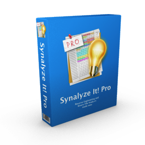 Box shot of Synalyze It! Pro